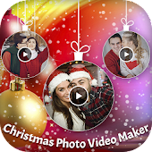 Christmas Photo Video Maker with Music