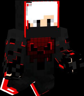 red ninja pose real