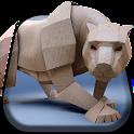 Puma Origami Live Wallpaper icon