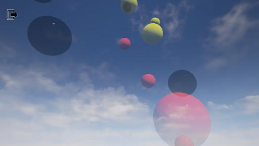 泡沫和氣球!