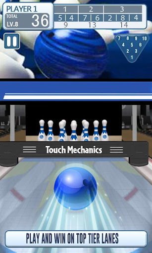 Télécharger 3D Bowling Free Game - Endless Bowling Paradise mod apk screenshots 1