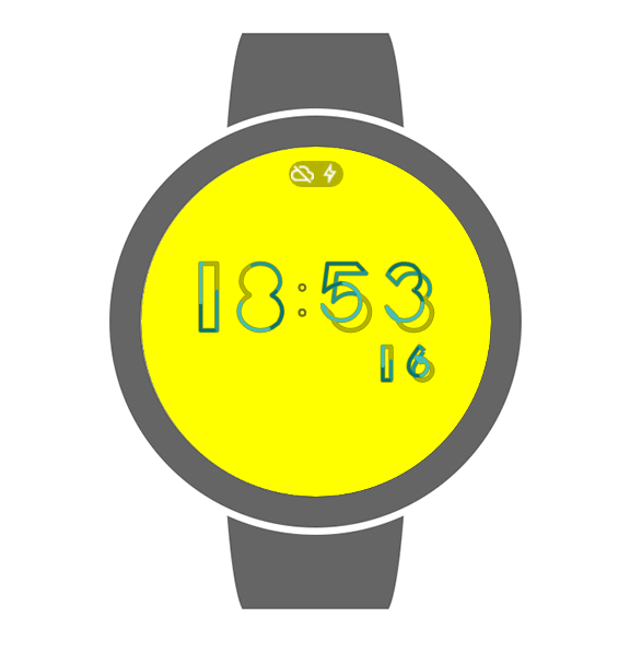 #io16 Clock: captura de tela
