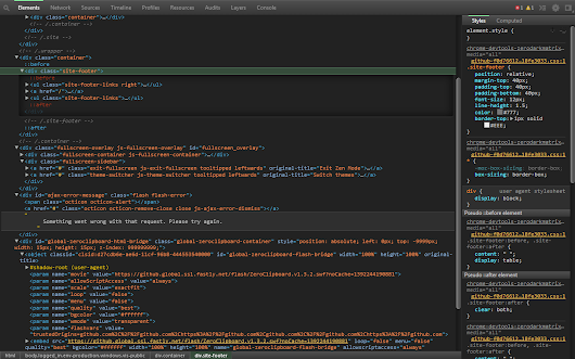 DevTools Theme: Zero Dark Matrix