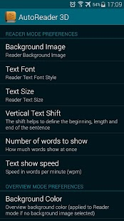 AutoReader 3D- screenshot thumbnail