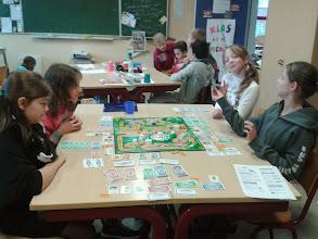Photo: Sint: spelletjes in de klas bij L6
