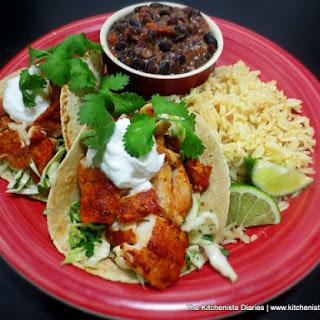 Guajillo Fish Tacos