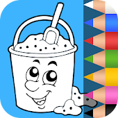 Preschool Kids Coloring Pages