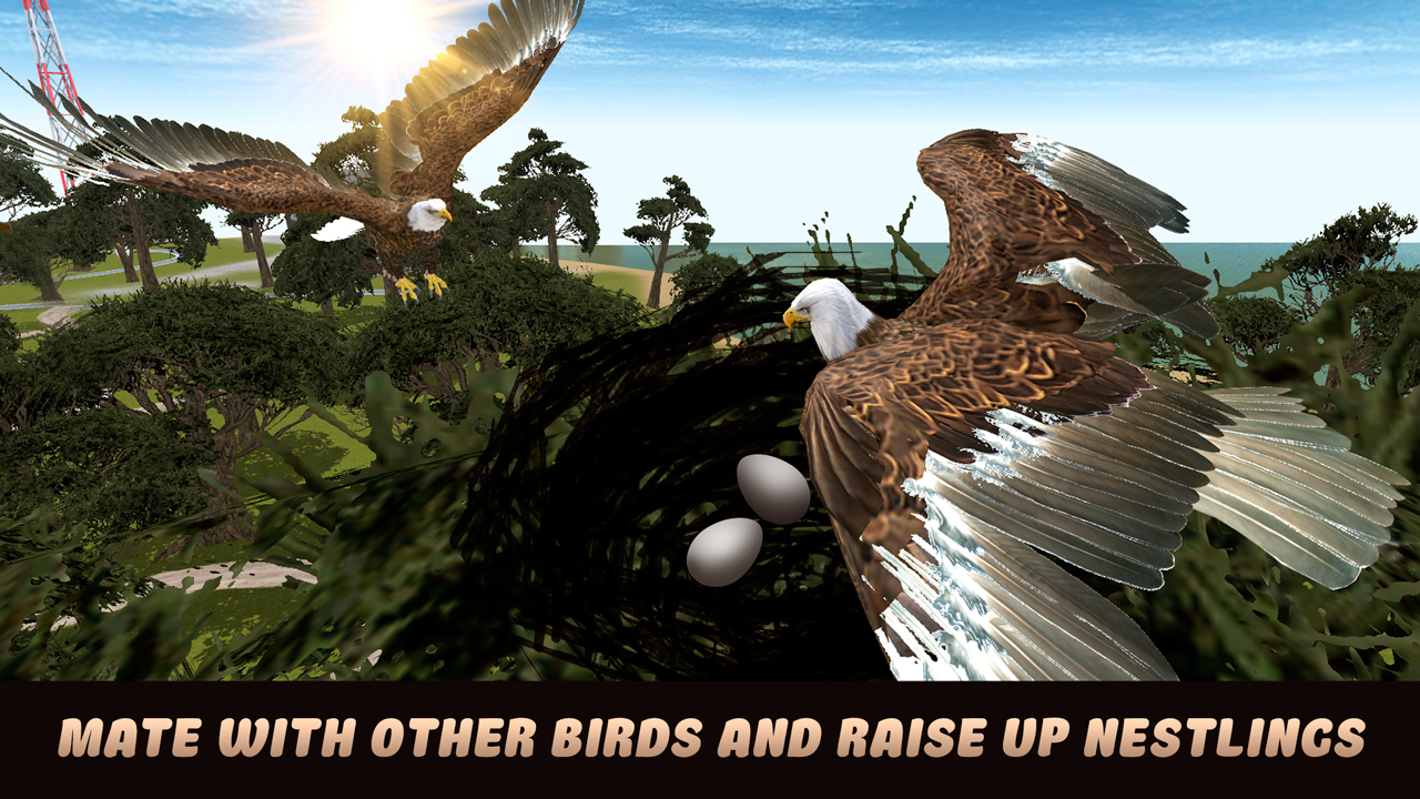 city bird eagle simulator 3d - android apps on google play