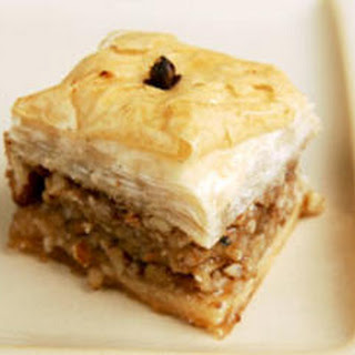 Almond and Walnut Baklava