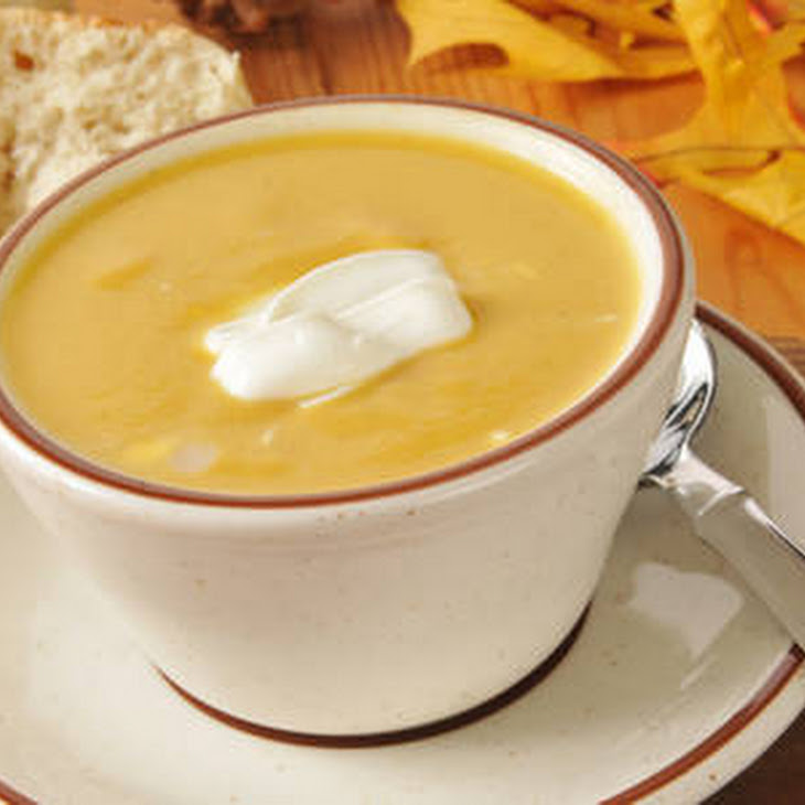 Panera Bread Copycat Autumn Squash Soup Recipe