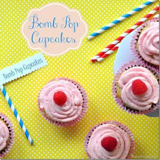 Bomb Pop Cupcake