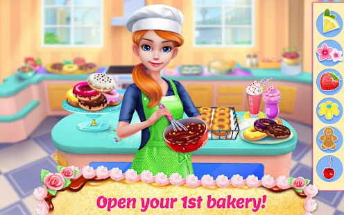 Game My Bakery Empire - Bake, Decorate & Serve Cakes APK for Windows Phone
