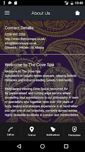 The Cove Spa- screenshot thumbnail