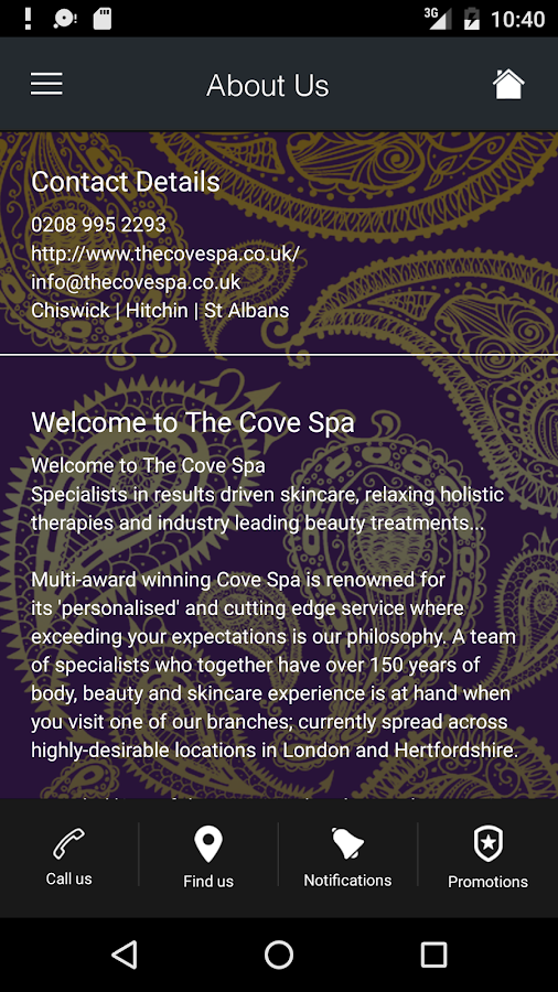 The Cove Spa- screenshot