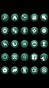 Big Bang Emerald Icons By Arjun Arora - náhled