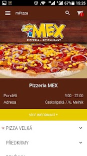 Pizzerie MEX Mělník- screenshot thumbnail