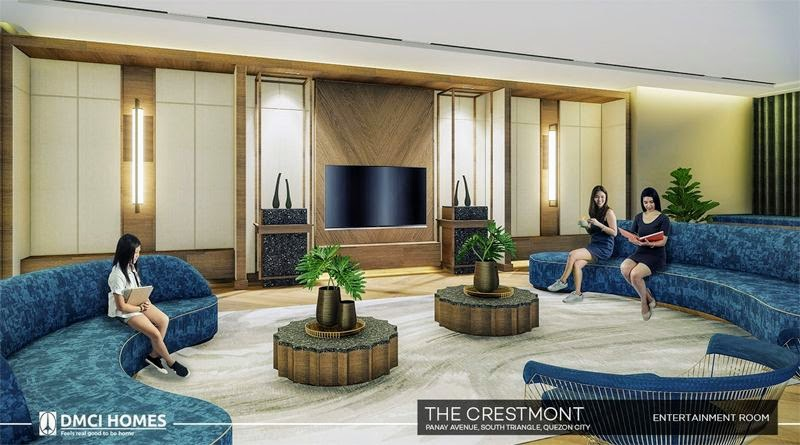 The Cresmont, Panay Avenue, Quezon City entertainment room
