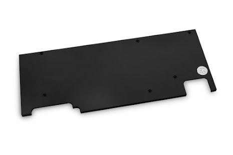 EK bakplate for EK-Vector Aorus RTX 2080 Ti Backplate - Black