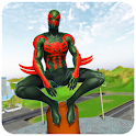Spider Rope Hero Gangster: Crime City Simulator 3D icon