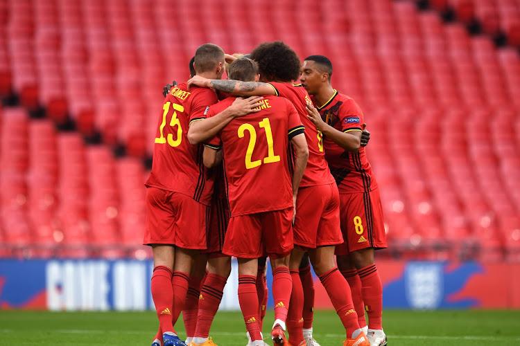 La Belgique conserve sa première place au classement FIFA