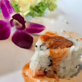 Sushi Time! by Lorna Littrell - Food & Drink Plated Food ( food, sushi, food photography, plated food )