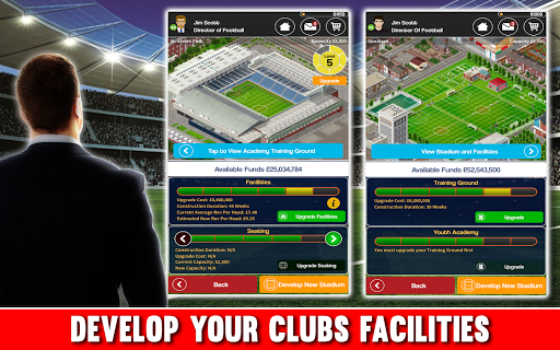 Club Soccer Director - Soccer Club Manager Sim 2.0.8e Screenshots 3