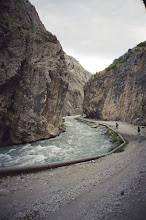 Photo: Chilesay, road in canyon