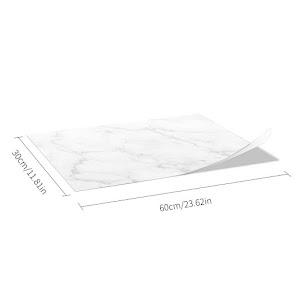 Set 5 x Autocolant adeziv decorativ cu design marmura, 30x60 cm