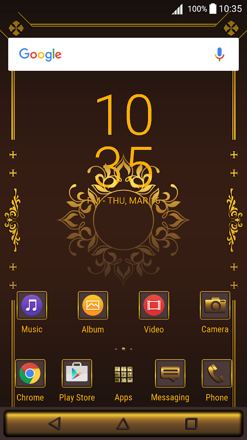 Golden Brown for XPERIA™- screenshot