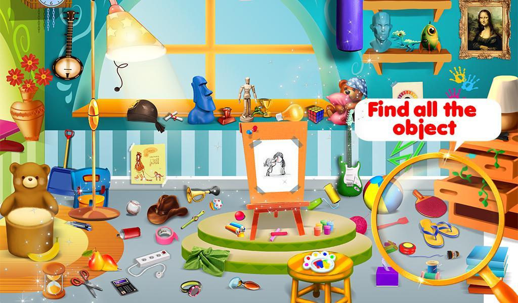 hidden object kids adventure screenshot - Hidden Pictures For Toddlers