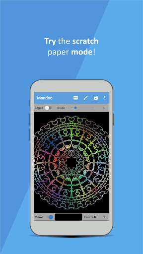 Mandoo: Mandala drawing App android2mod screenshots 3