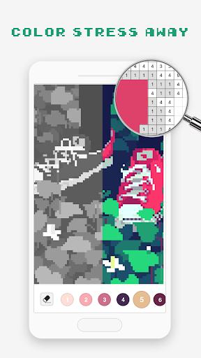 Pixel Art - jeu de coloriage  captures d'écran 6