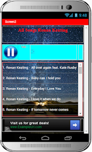 All Songs Ronan Keating - náhled