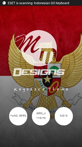 인도네시아 GO 키보드 HD 테마