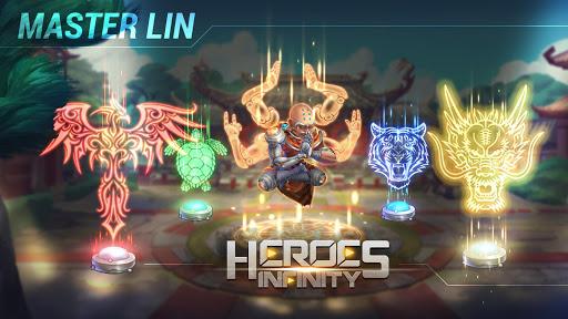 Télécharger Heroes Infinity: RPG + Auto Chess + God + strategy  APK MOD (Astuce) screenshots 4