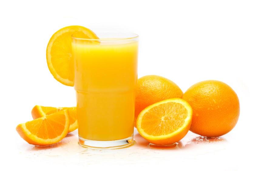 zumo de naranja exprimido
