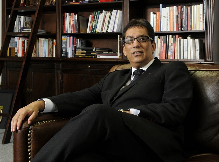 Iqbal Survé. Picture: FINANCIAL MAIL