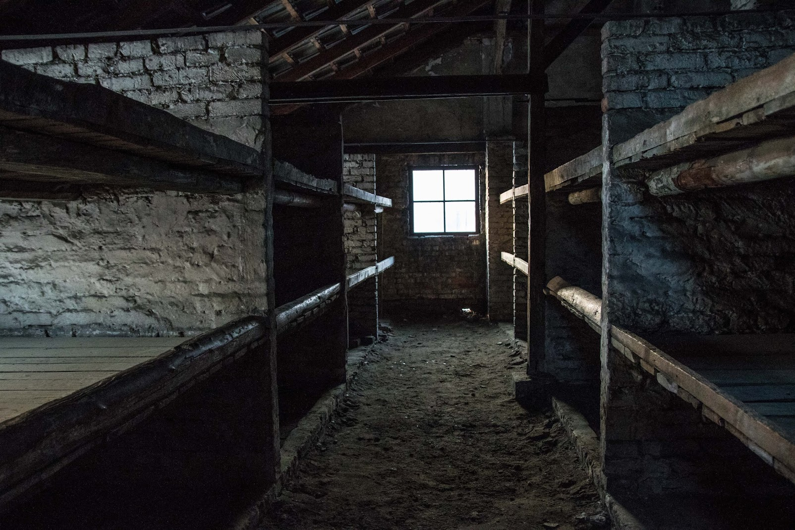barracks interior auschwitz birkenau