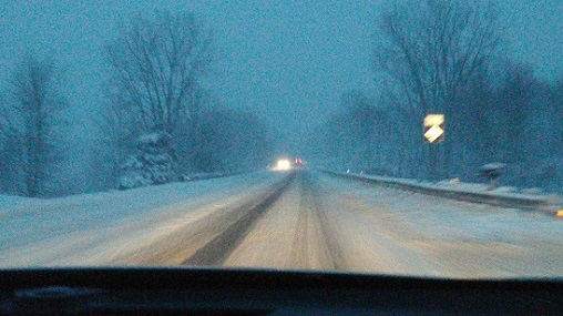 Road service in Mt Vernon snow.