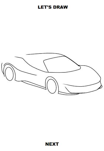 Draw Cars: Super ss3