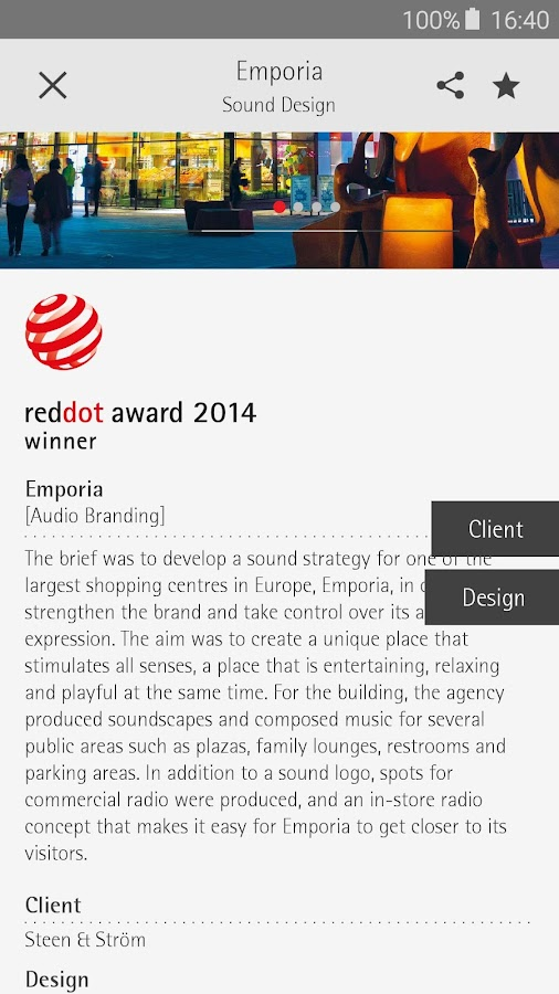 Red Dot Design App- screenshot