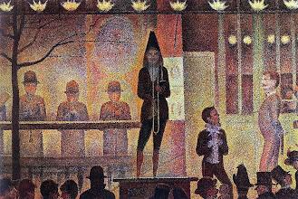 "Photo: George Seurat, ""La parata del circo"" (1888)"