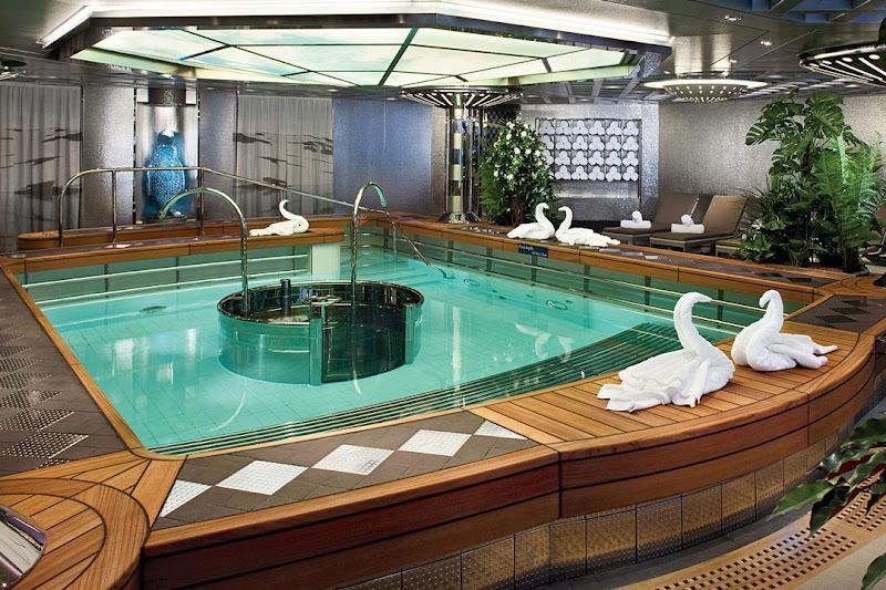 The Greenhouse Spa & Salon on ms Koningsdam.