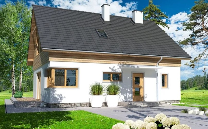 Projekt domu Jantar MDM wersja A