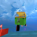 Mega Rikshaw Extreme Impossible Stunts 3D icon