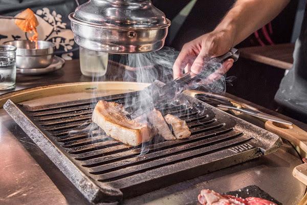 台北韓式燒肉推薦,延吉街超人氣韓式燒肉店,超美味韓風鐵桶燒肉!燒桶子韓風立燒