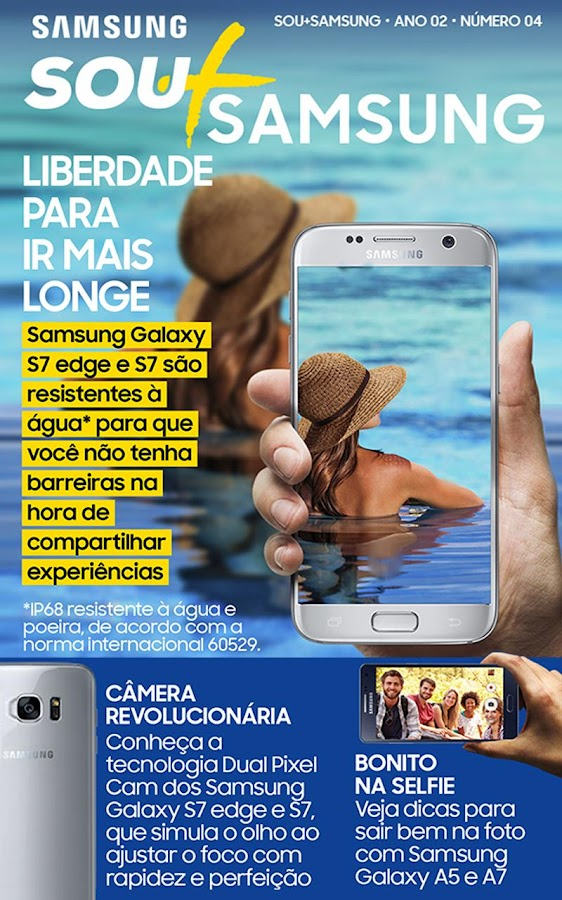 Revista Sou + Samsung- screenshot
