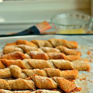 Parmesan Garlic Breadsticks.