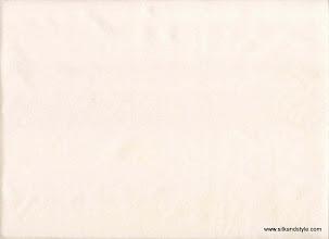 Photo: Mysore 19 - Matching Plain Silk Taffetta - Cream
