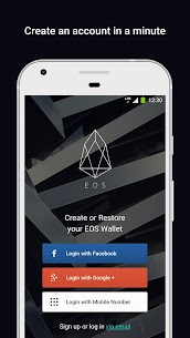 EOS Wallet. Store, send & receive coins-Freewallet 1
